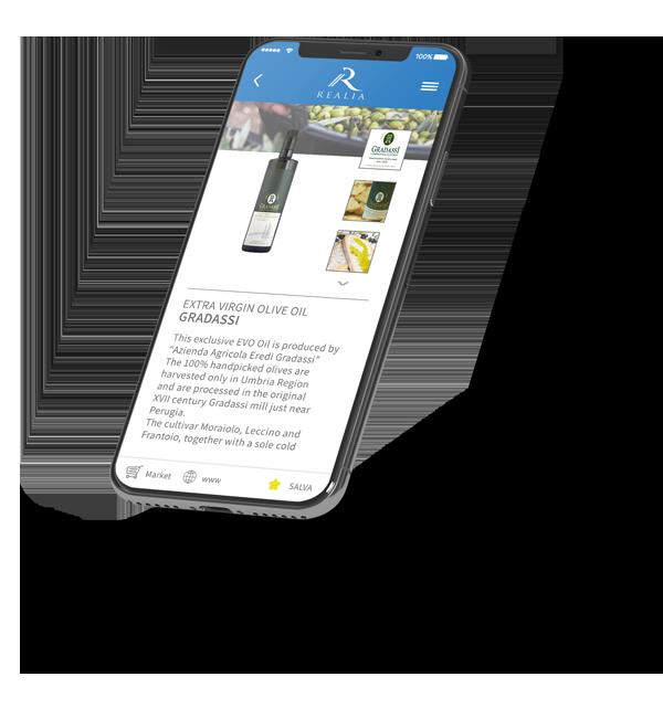 Come funziona l'App Realia per il riconoscimento dei prodotti Made in Italy